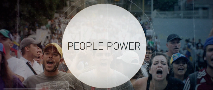 People Power screen grab circle Picture Alternatives